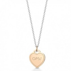 Collana OPS OPSOBJECT PAINT Donna Acciaio Turchese - OPSCL-443