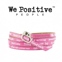 Bracciale We Positive Vintage Unisex Bubble Gum we143