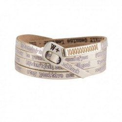 Bracciale We Positive Vintage Unisex WHITE GOLD - WE156